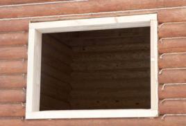 Окосячка  (обсада) дверных и оконных проемом